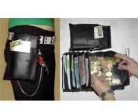 Kellner Geldbörse mit Halfter/Köcher (Verleih)